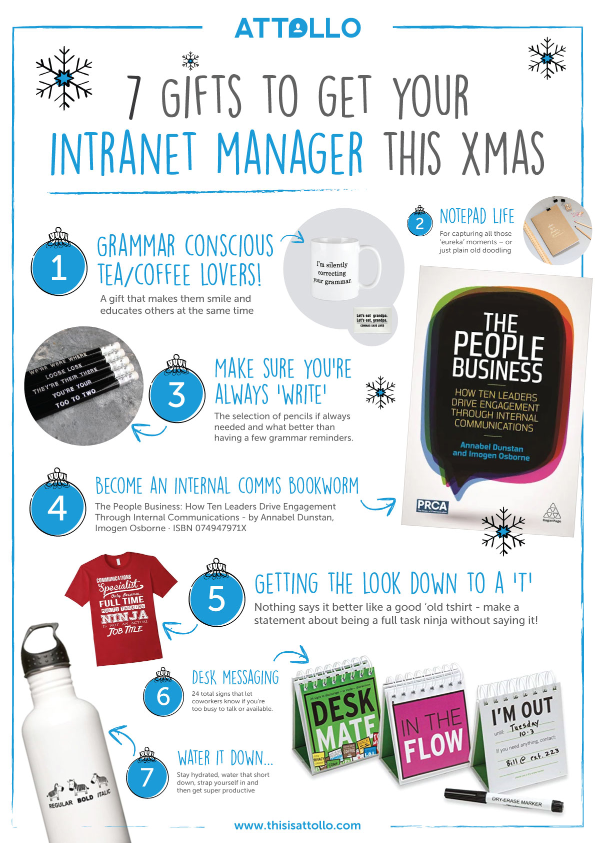 5 gifts to get your intranet manager