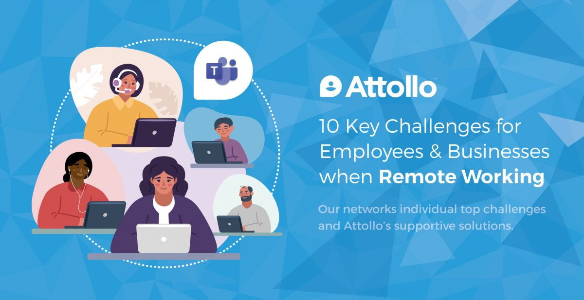 10 Key Challenges for Employees & Businesses when Remote Working