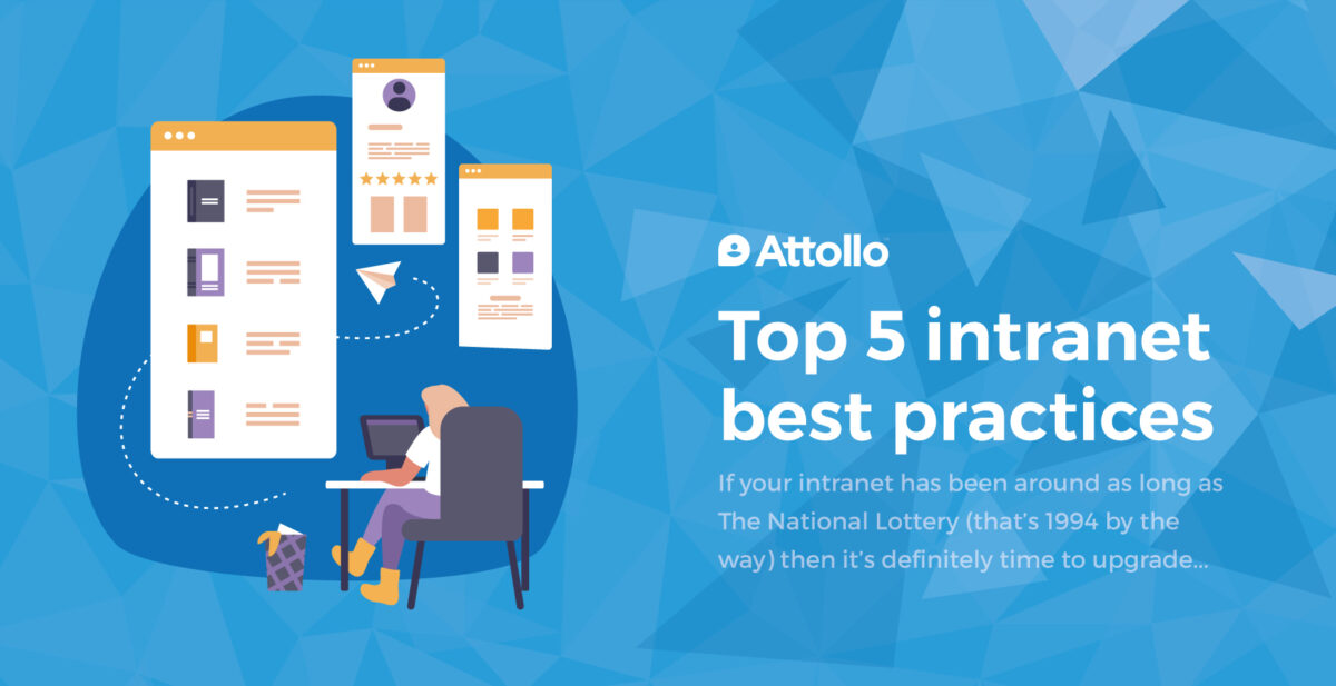 Top 5 intranet best practices