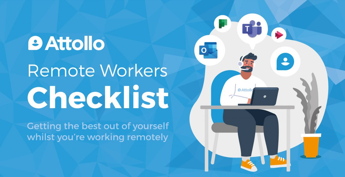 Infographic – Remote Workers Checklist